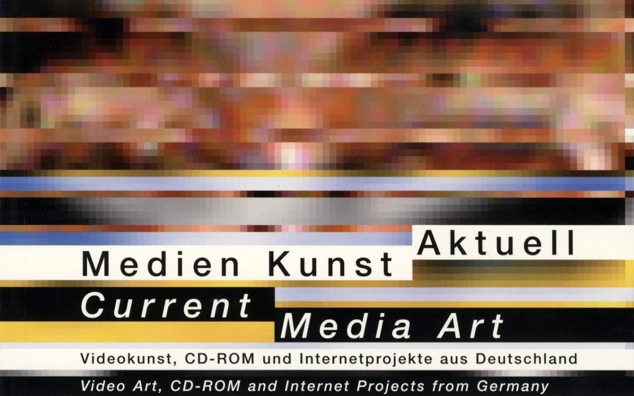 Cover of the publication »Medien Kunst Aktuell / Current Media Art«