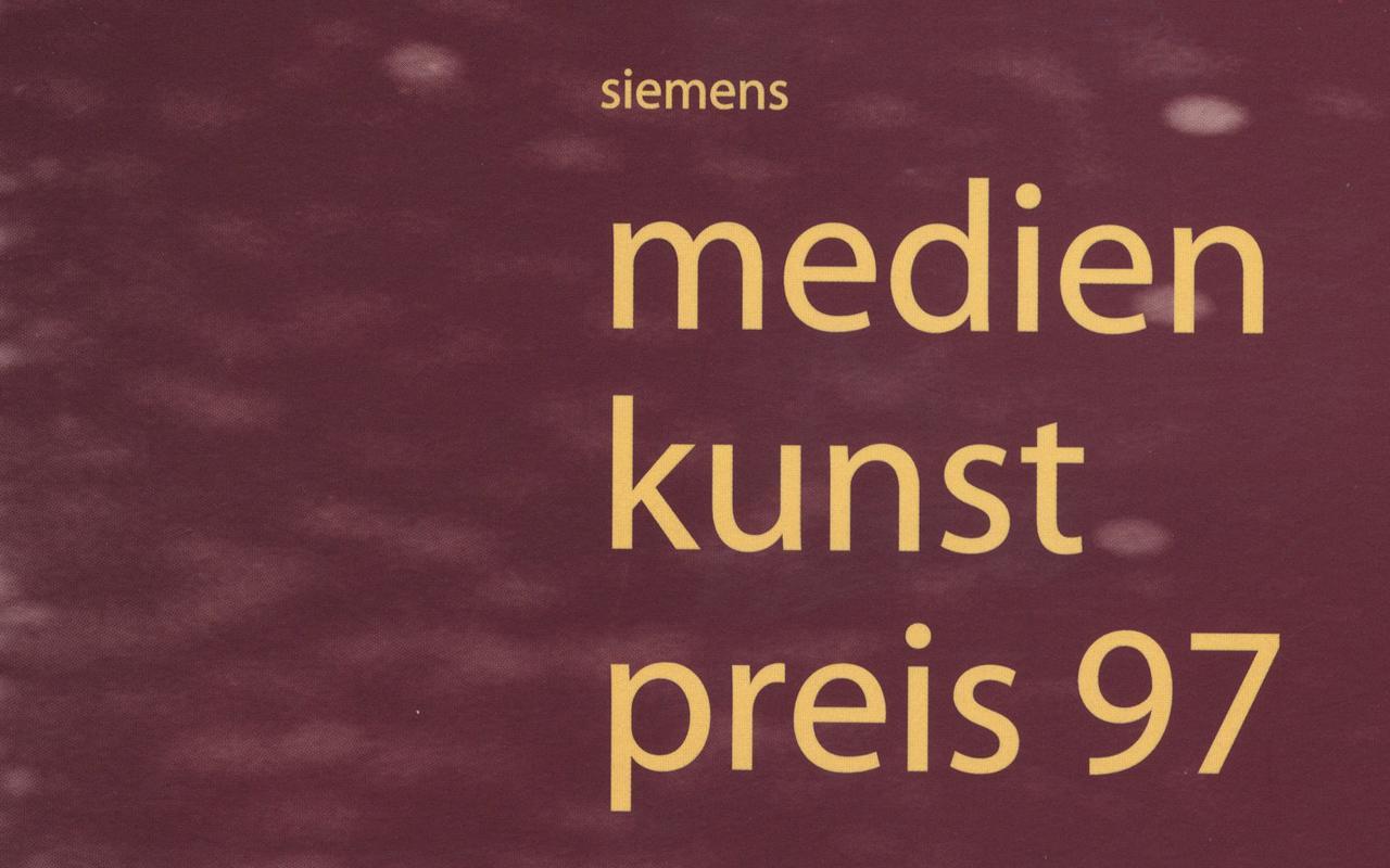 Cover der Publikation »Siemens Medienkunstpreis 97«