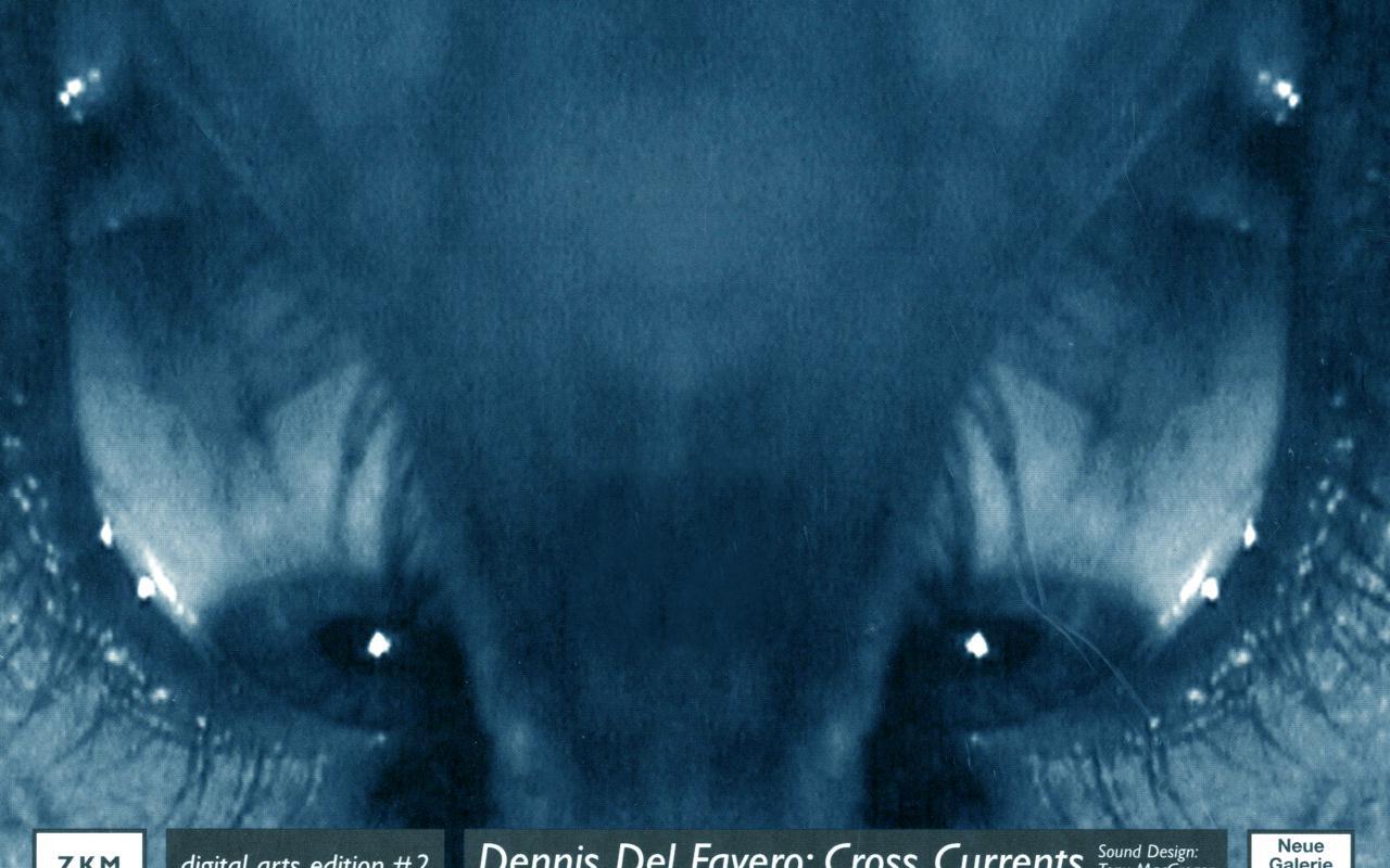 Cover der Publikation »Dennis Del Favero: Cross Currents«
