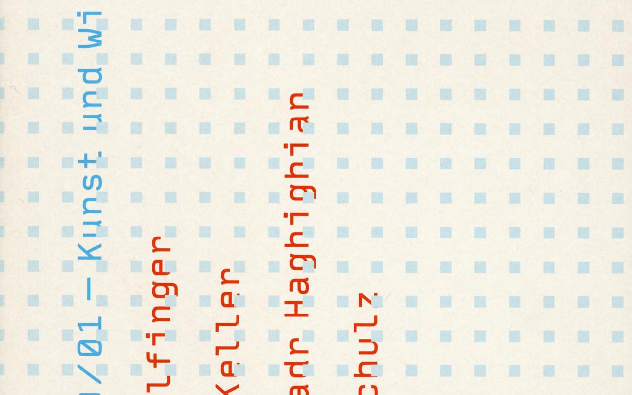 Cover of the publication »Ars Viva 00/01. Kunst und Wissenschaft«