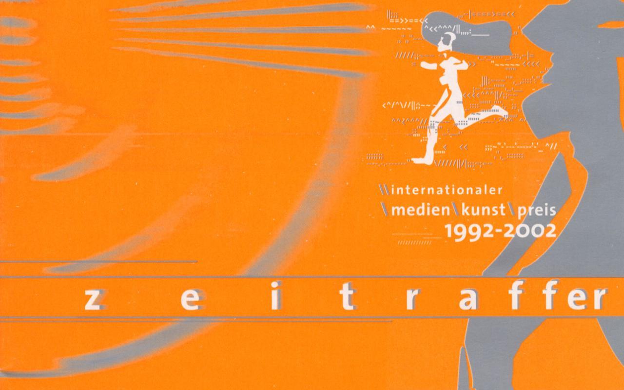 Cover der Publikation »Zeitraffer / Time Lapse. Internationaler Medienkunstpreis 1992–2002«