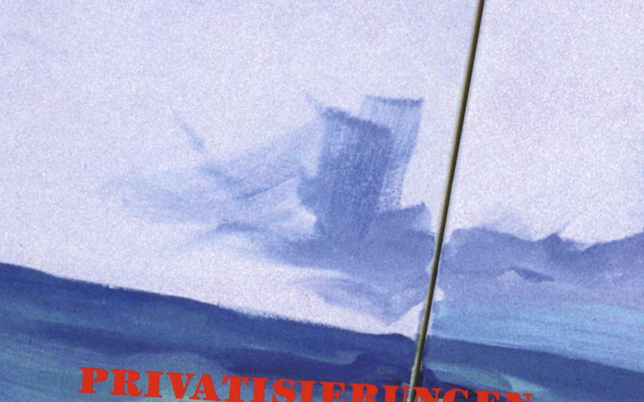 Cover der Publikation » Privatisierungen«