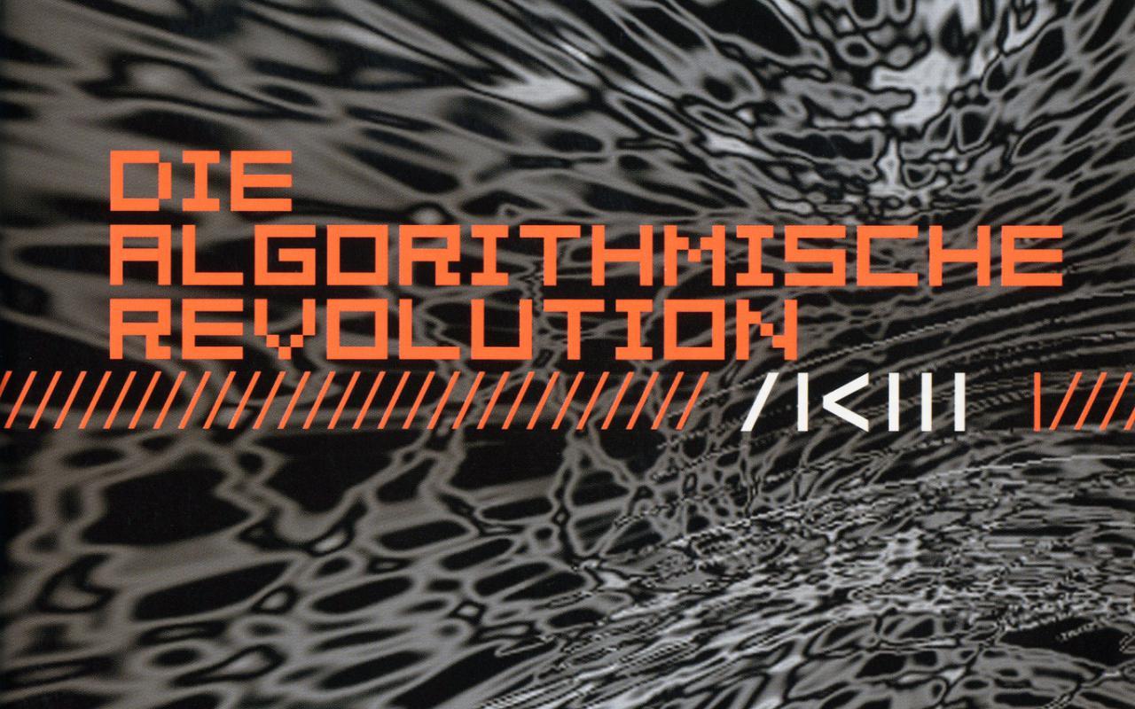 Cover of the publication »Die algorithmische Revolution«