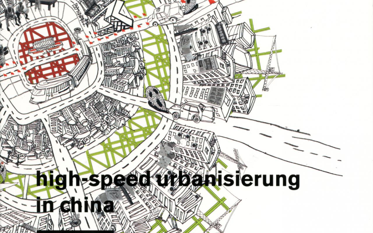 Cover of the publication »Totalstadt. Beijing Case. High Speed Urbanisierung in China«