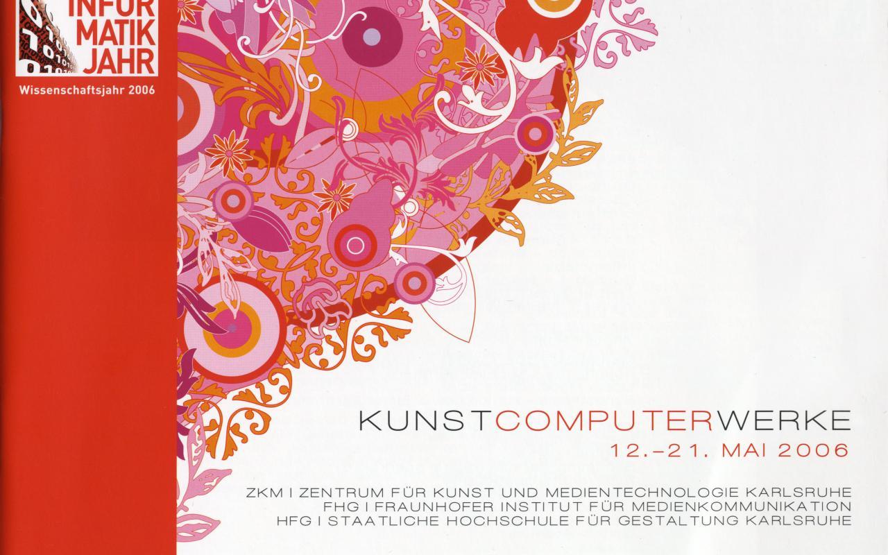 Cover der Publikation »Kunst Computer Werke«