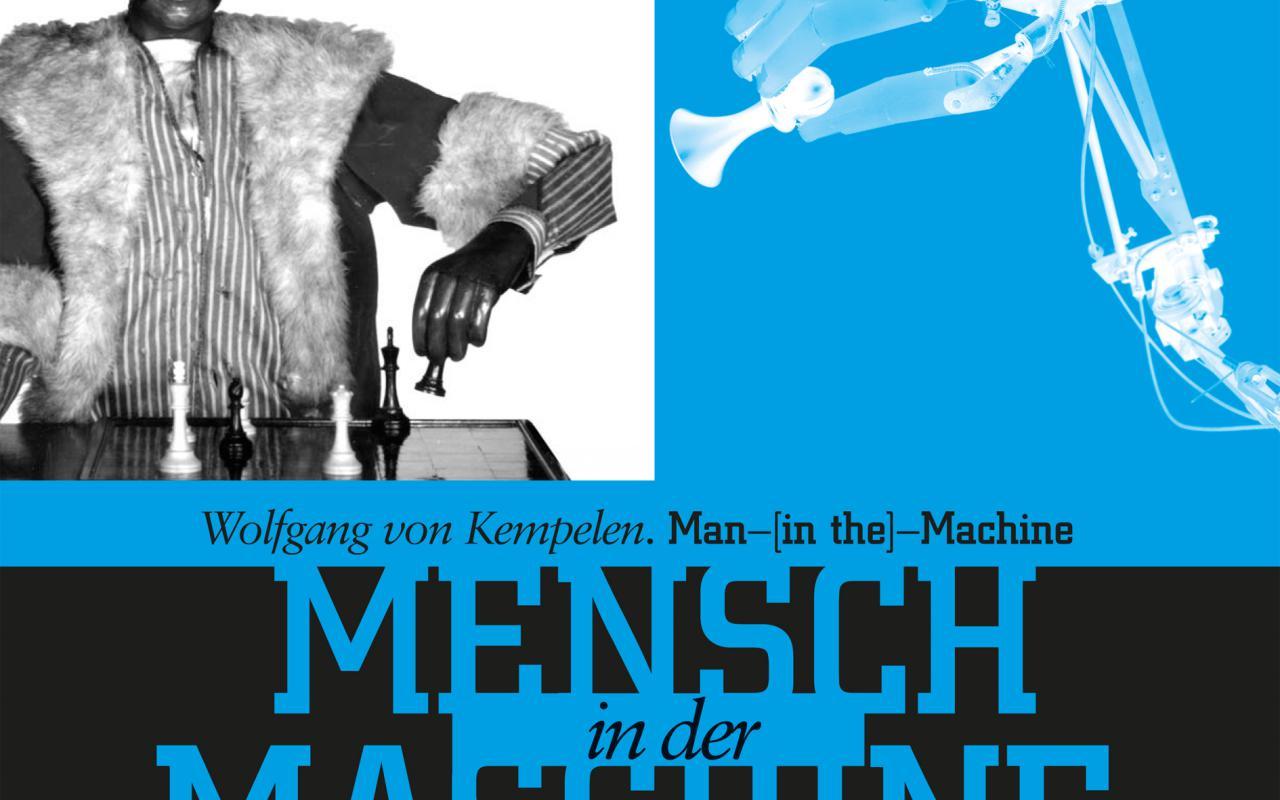 Cover der Publikation »Wolfgang von Kempelen. Mensch in der Maschine / Man in the Machine«