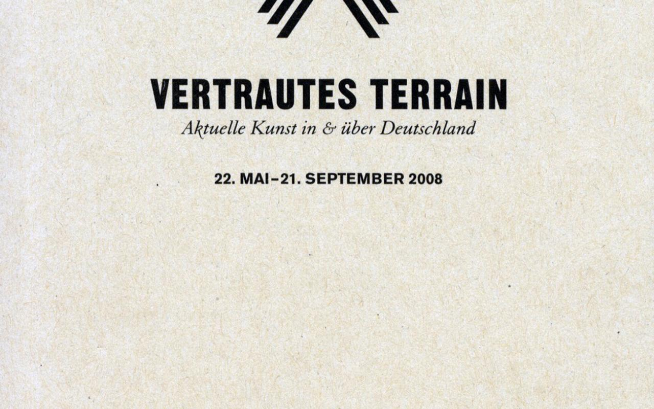 Cover of the publication »Vertrautes Terrain«