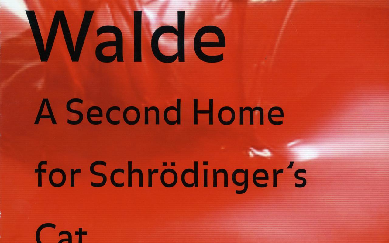 Cover der Publikation »Martin Walde: A Second Home for Schrödinger's Cat«