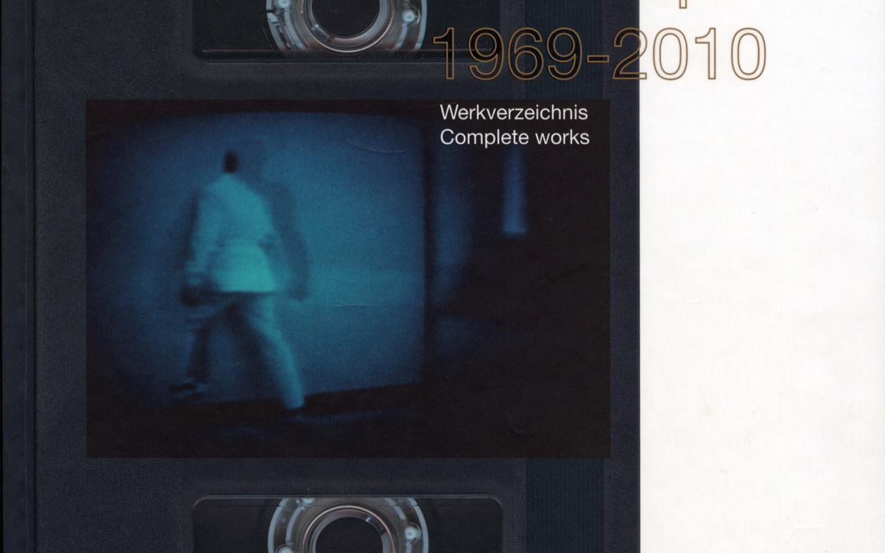 Cover of the publication »Wolf Kahlen: Tapes 1969–2010«