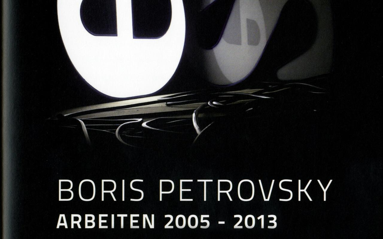 Cover of the publication »Boris Petrovsky: Arbeiten 2005–2013«