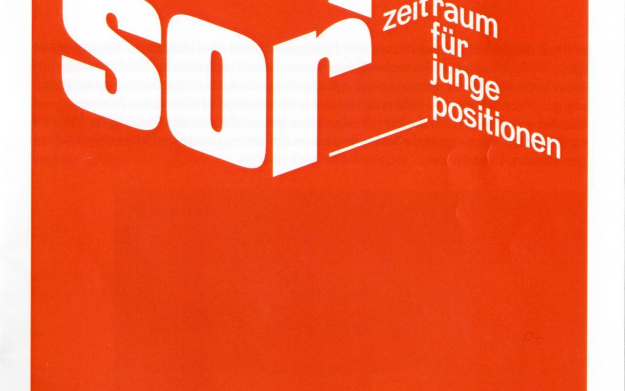 Cover der Publikation »Sensor. Zeitraum für junge Positionen. 01 Alicija Kwade«
