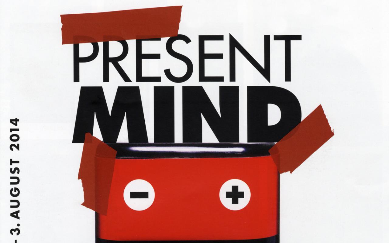 Cover of the publication »GJ Lischka: Present Mind / Geistesgegenwertig«
