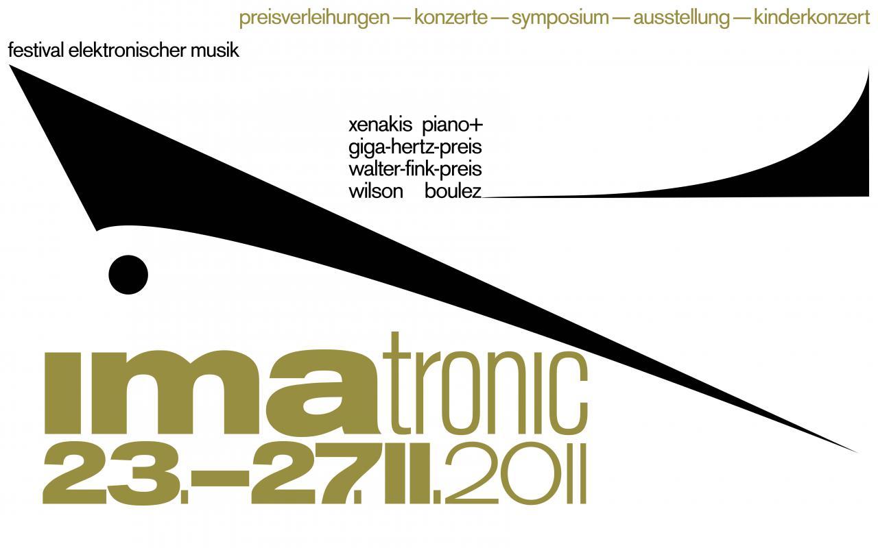 Web banner IMATRONIC 2011 at ZKM | Karlsruhe