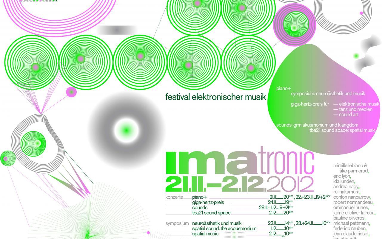 Web banner IMATRONIC 2012 at ZKM | Karlsruhe