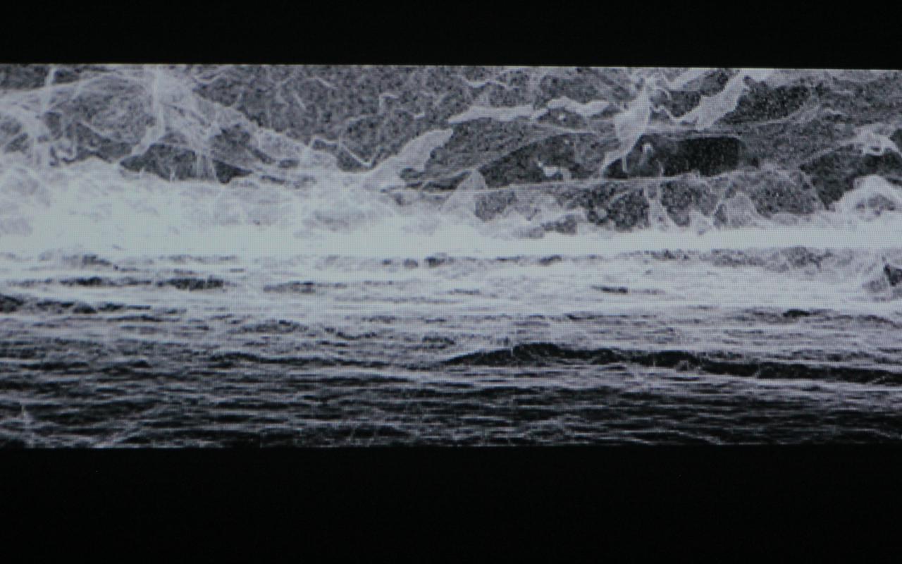 Schwarz-weiße Wellen