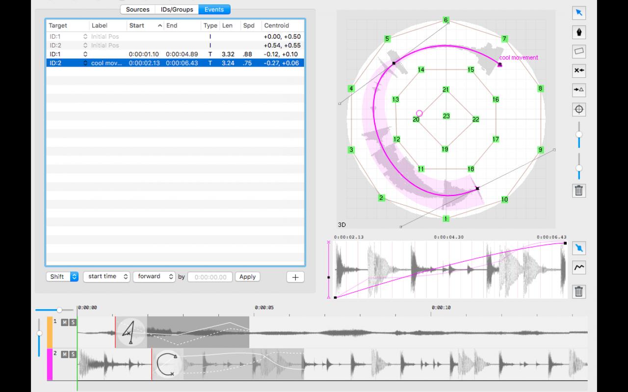 Screenshot of a computer program