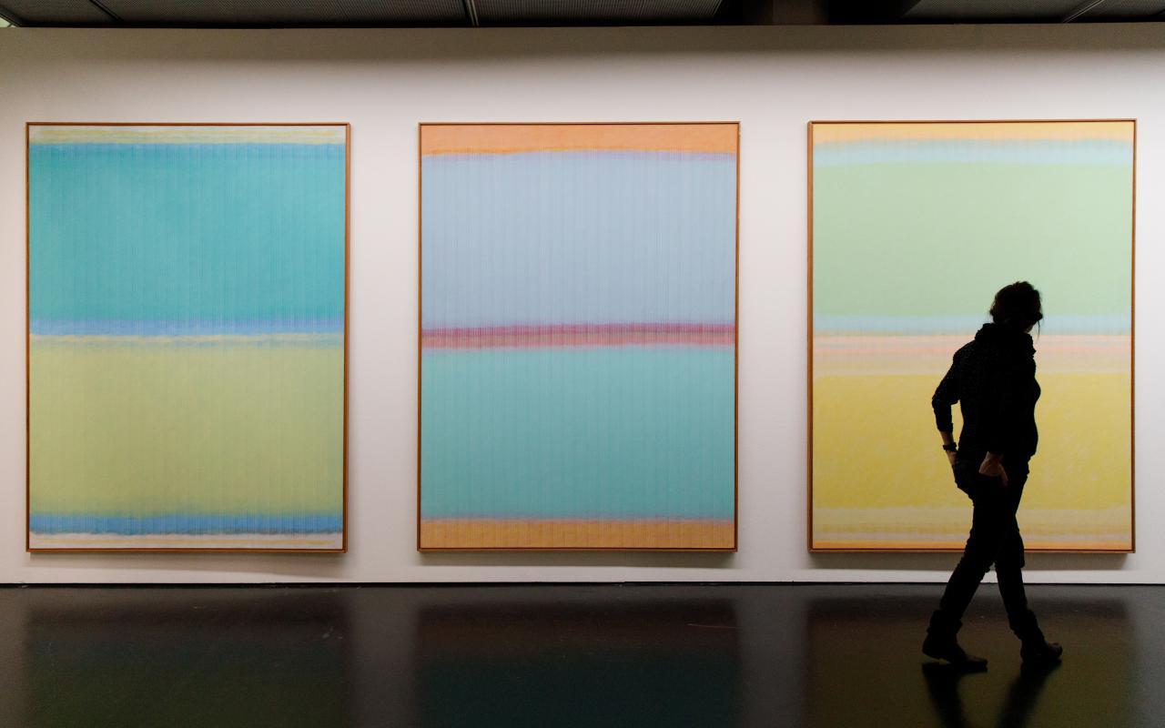 Werke der Ausstellung »Dieter Jung. Between and Beyond«