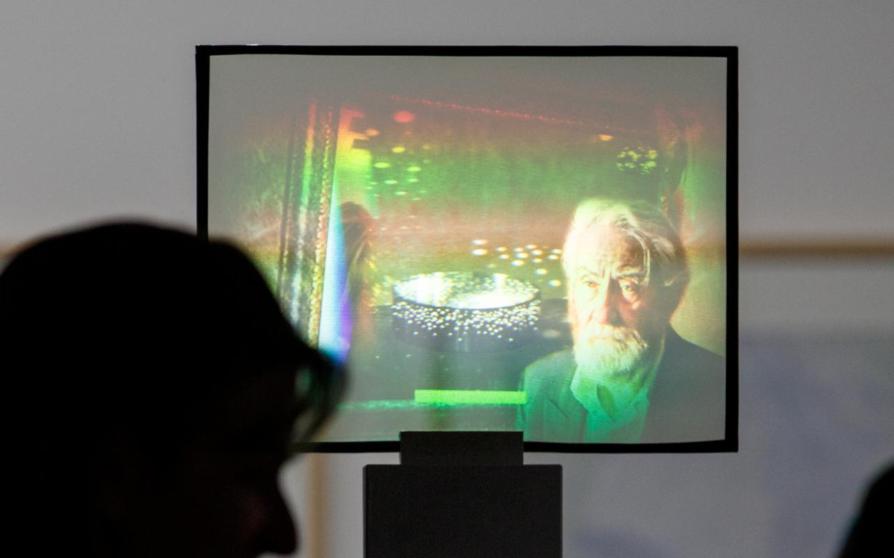 Light installation »Dieter Jung. Between and Beyond«