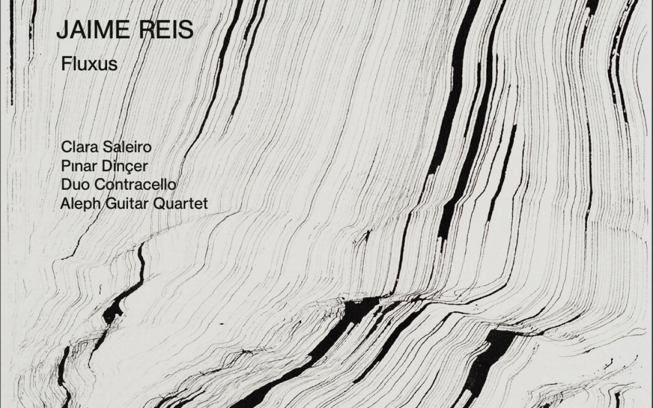 Cover of audio CD »Jaime Reis: Fluxus Cycle«, 2020