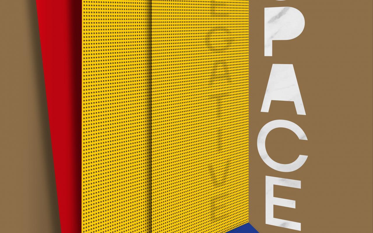Cover der Publikation »Negativer Raum«, 2021