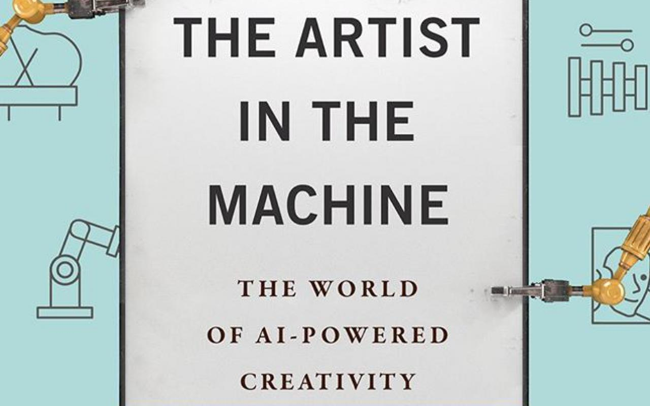 Book cover »Artist in the Machine« by Arthur Miller