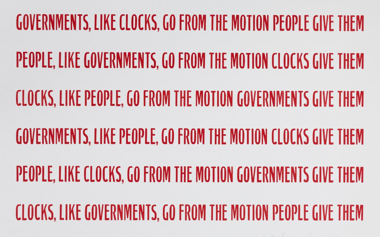 Government, People, Clocks