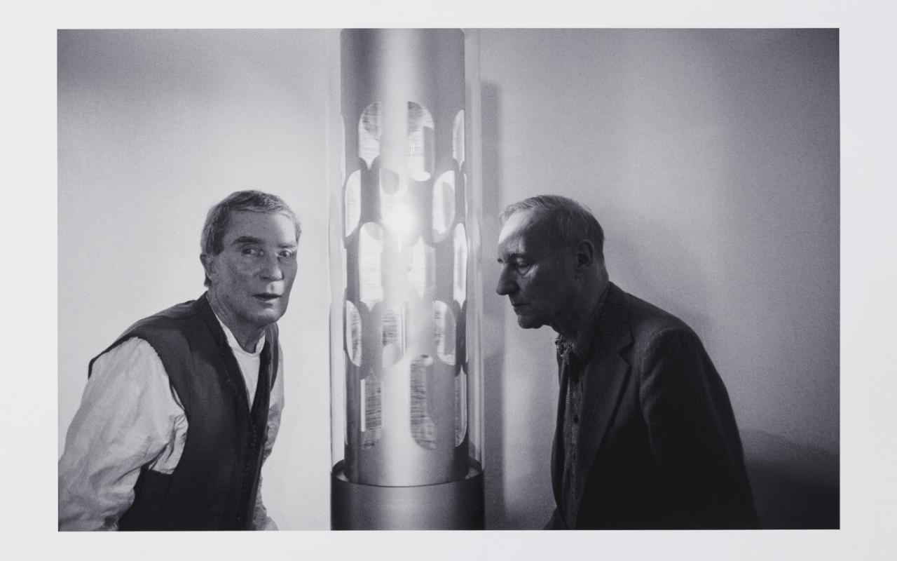 Brion Gysin & William S. Burroughs, Dreamachine-gazing