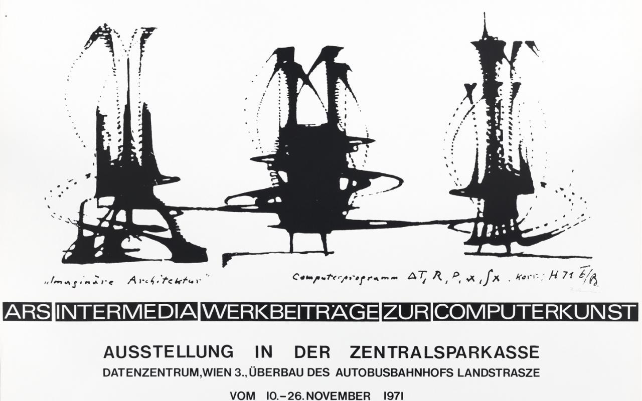 Werk - ars intermedia. Werkbeiträge zur Computerkunst