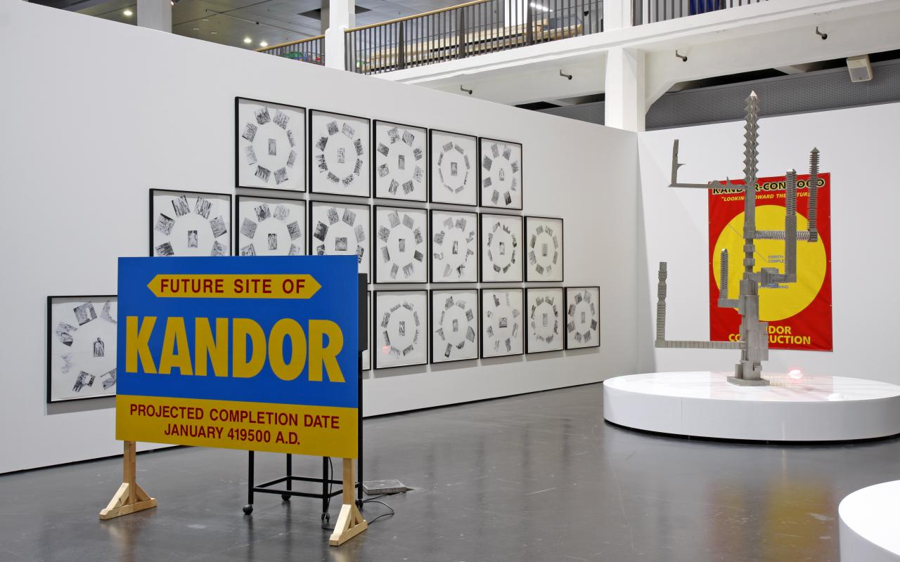 """Exhibition view """"Paul Thek"""""""