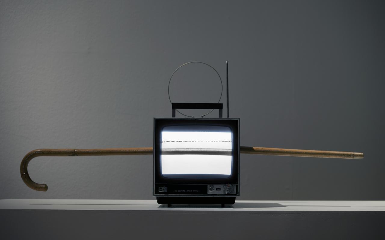 Ausstellungsansicht Wolf Kahlen