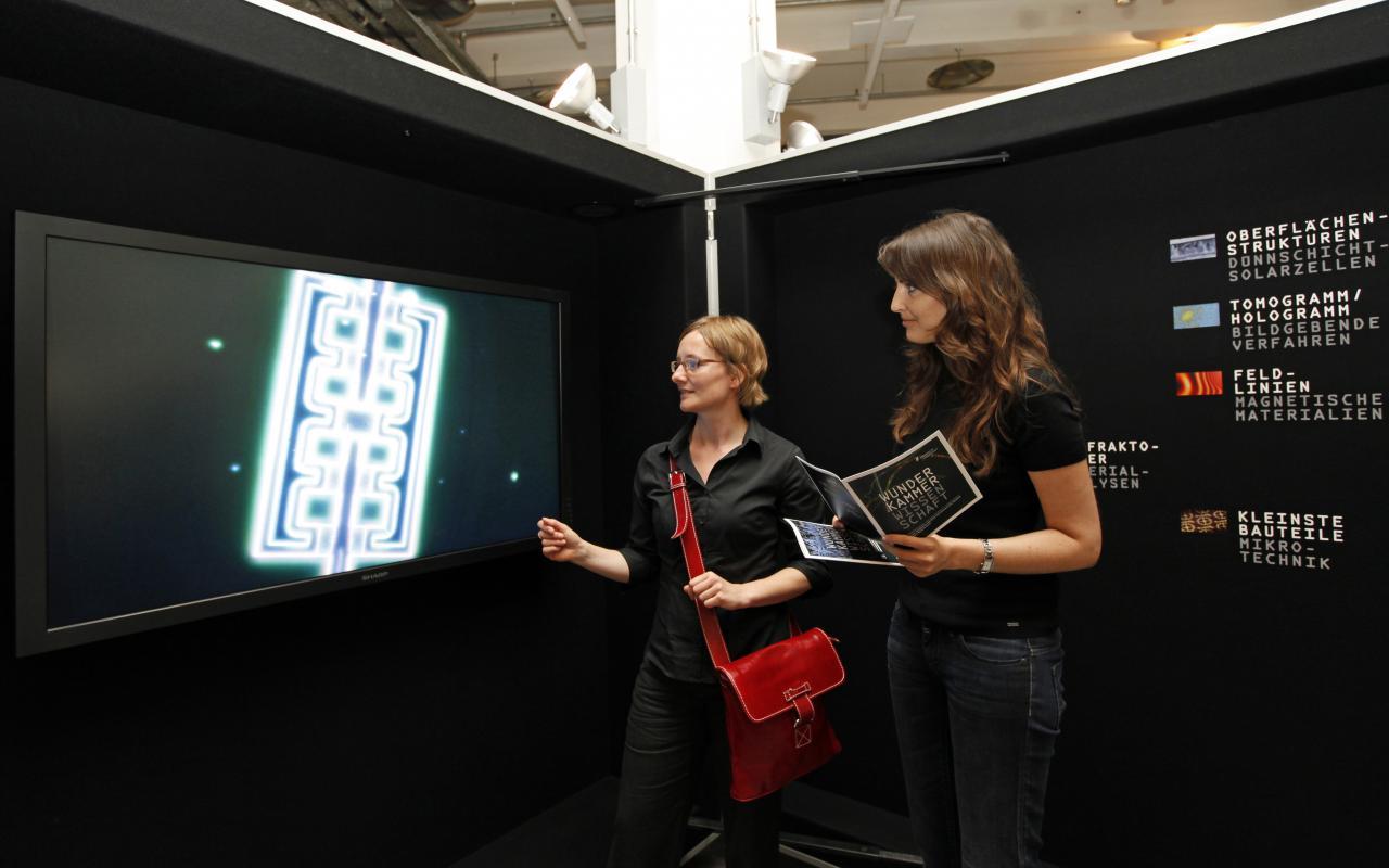 Ausstellungsansicht Wunderkammer Wissenschaft