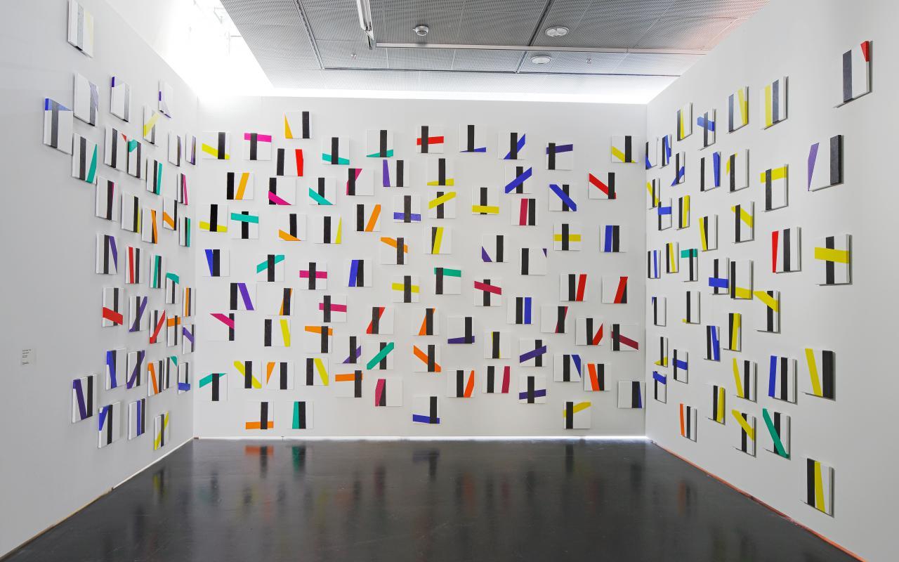 Ausstellungsansicht Bernhard Sandfort