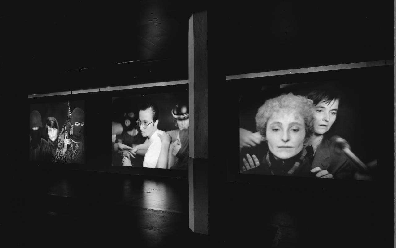 """Exhibition view """"Ute Friederike Jürß: You Never Know the Whole Story"""""""