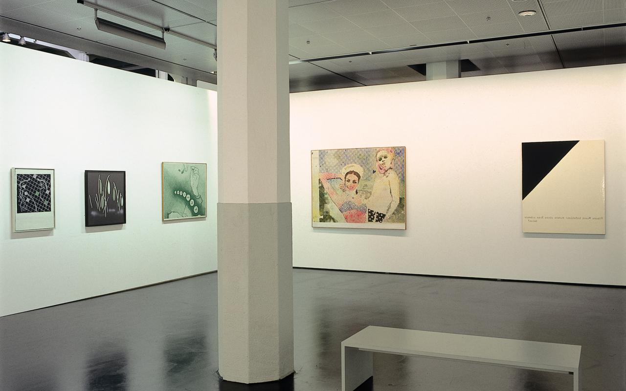 "Exhibition view ""Sigmar Polke"""