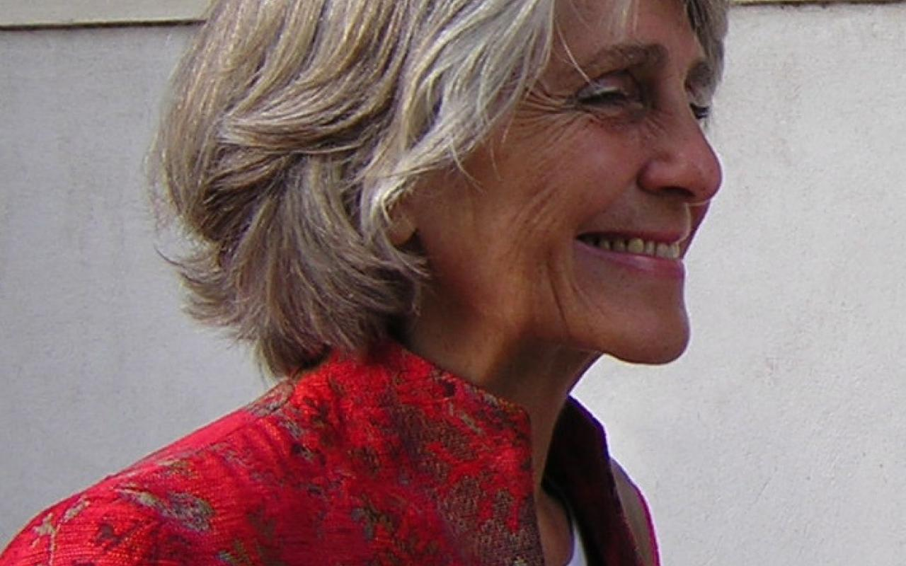 Portrait of the composer and researcher Beatriz Ferreyra