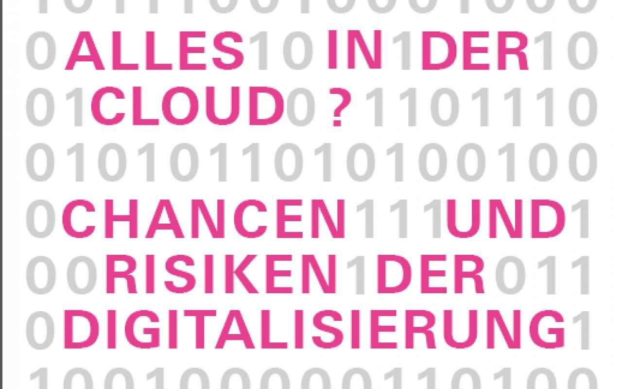 Plakat zur Veranstaltung Alles in der Cloud