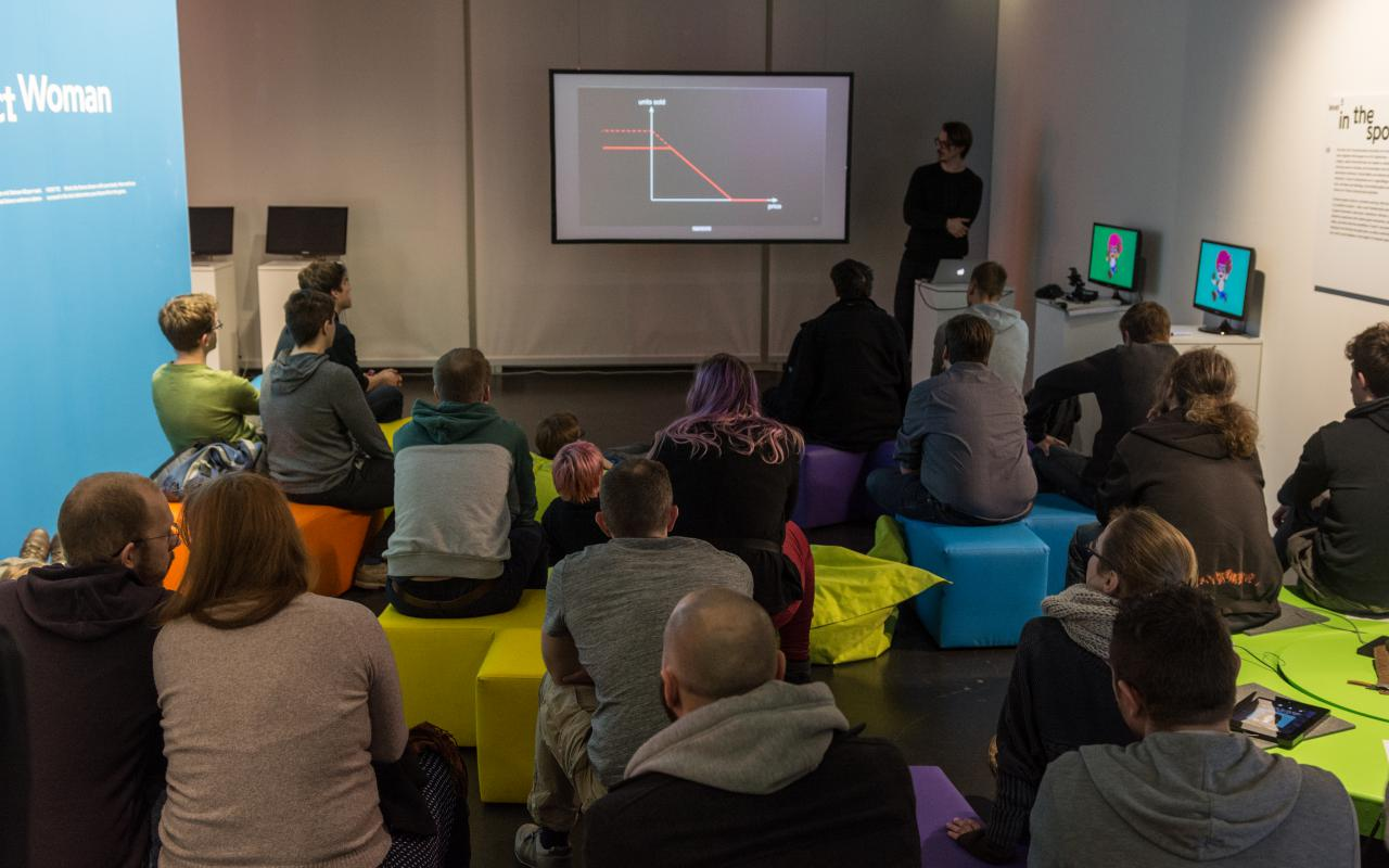 Talk & Play at the Gameplay Exhibition