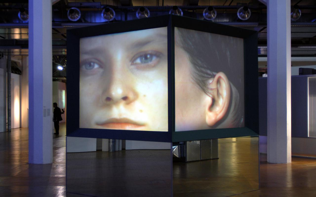 "Exhibition view ""Future Cinema"""