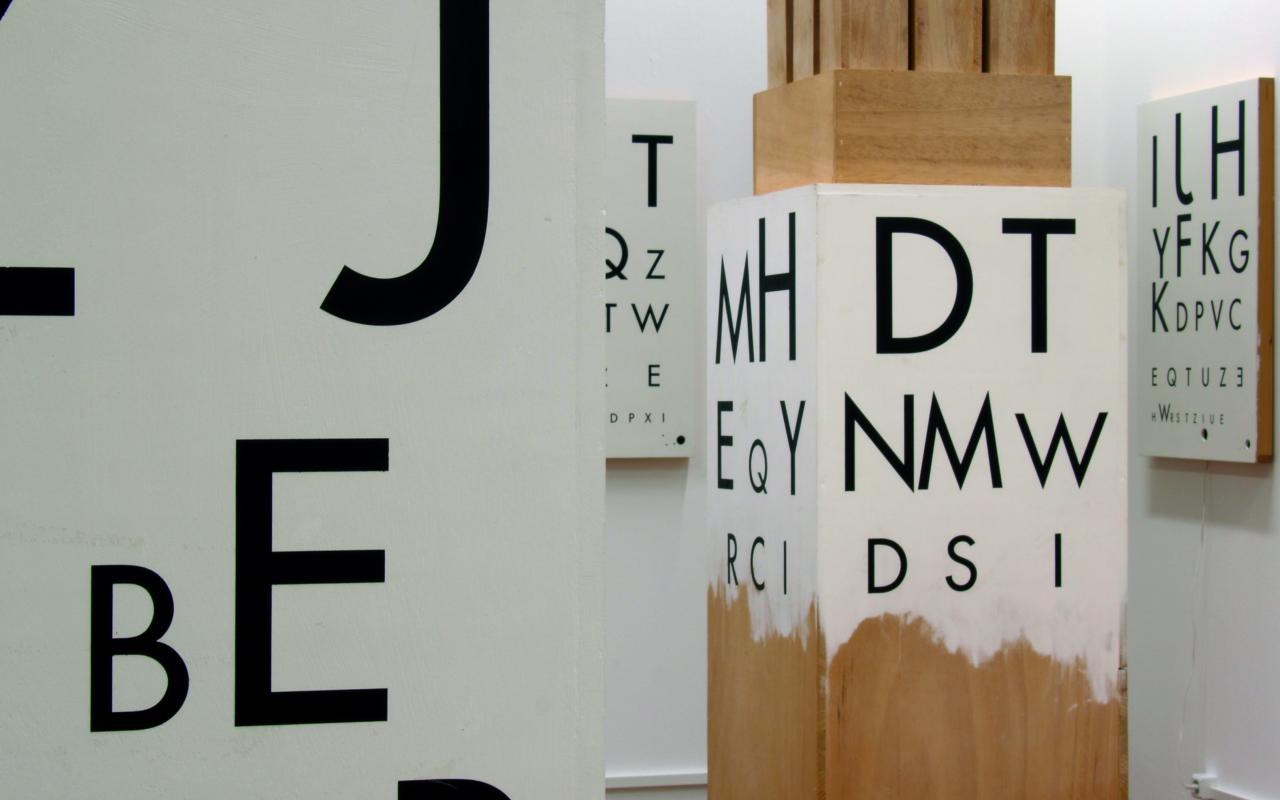 "Exhibition view ""Stephan von Huene: Border Crosser, Border Mover"""