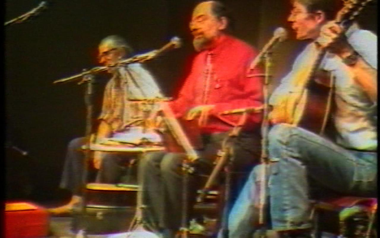 Allen Ginsberg on tour, feb. 16 1983 with Peter Orlovsky & Steven Taylor (Ausschnitt / excerpt)