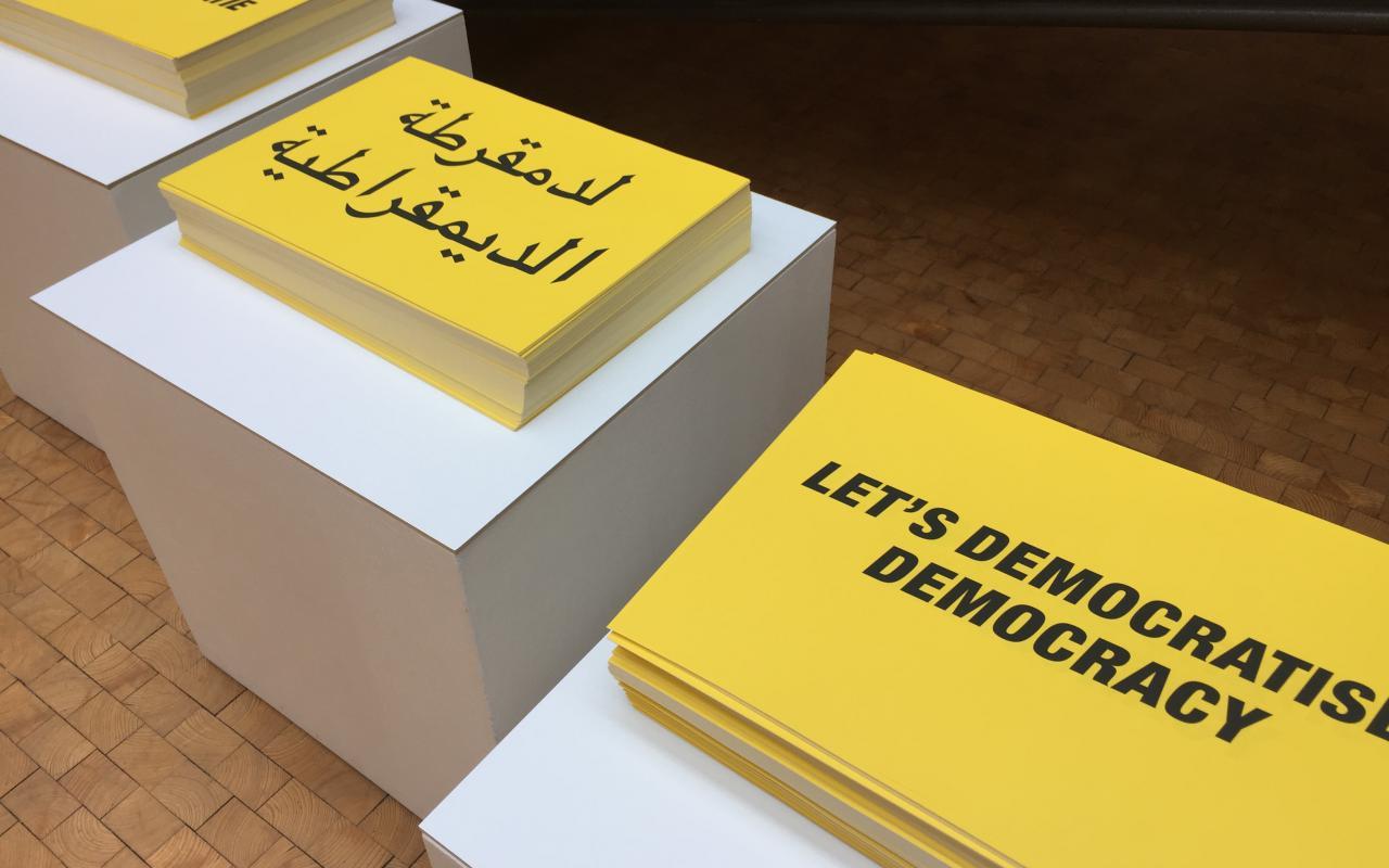 Lets Democratise Democracy