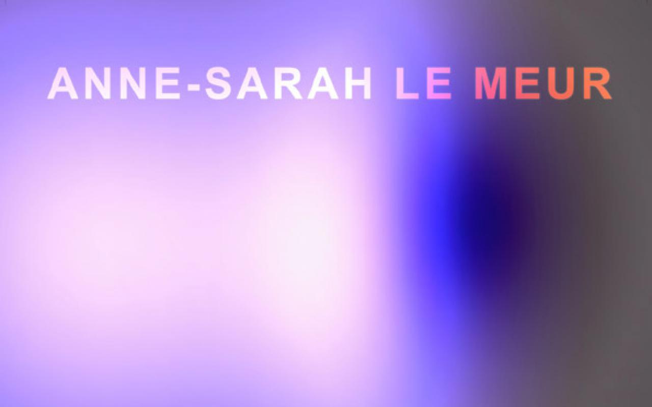Poster der Ausstellung »Outre–Ronde | Jenseits des Kreises«, Anna Sarah Le Meur