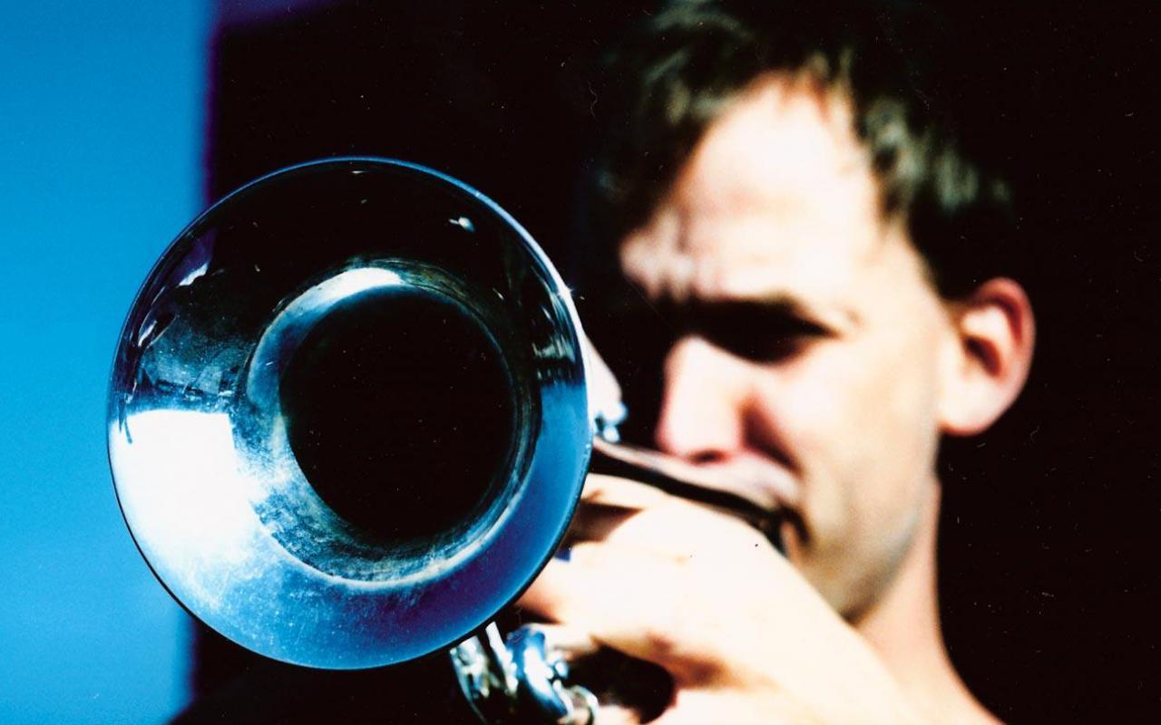 Marco Blaauw plays trumpet