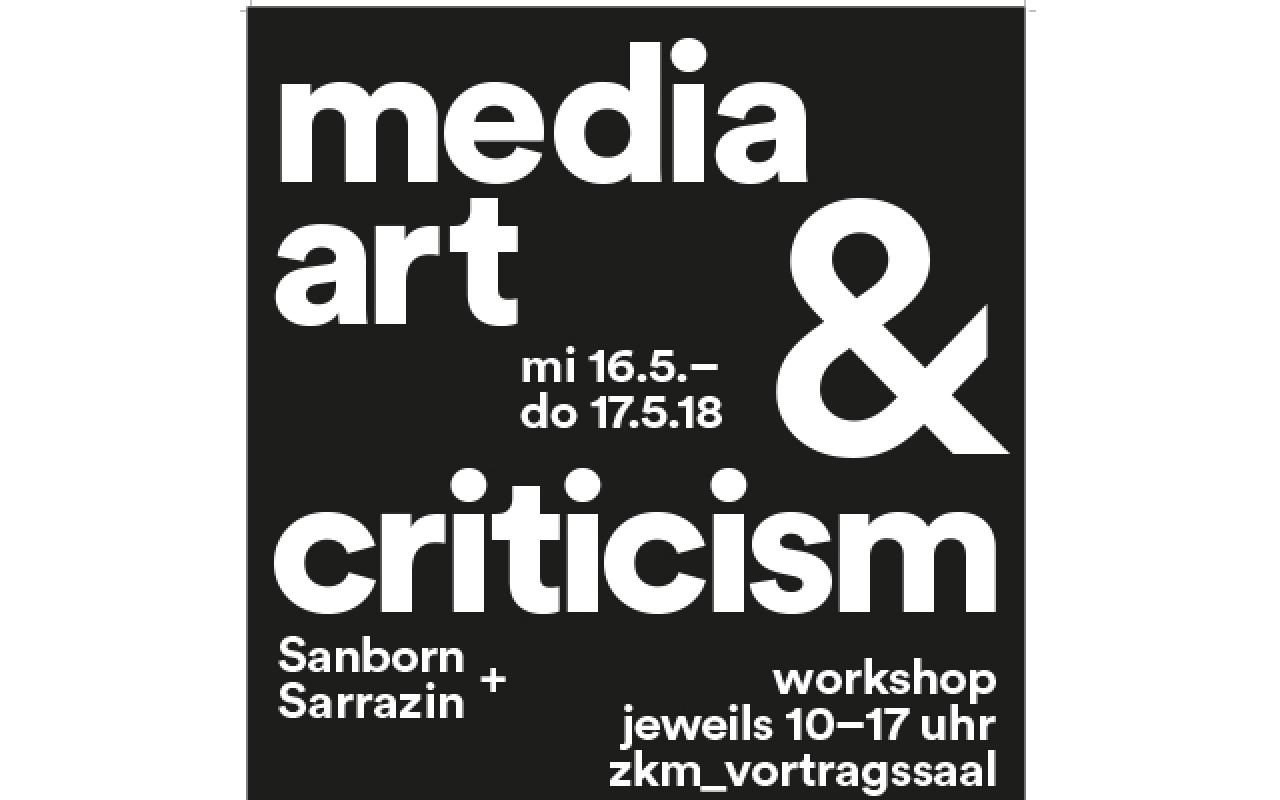 Poster of Media Art and Criticism
