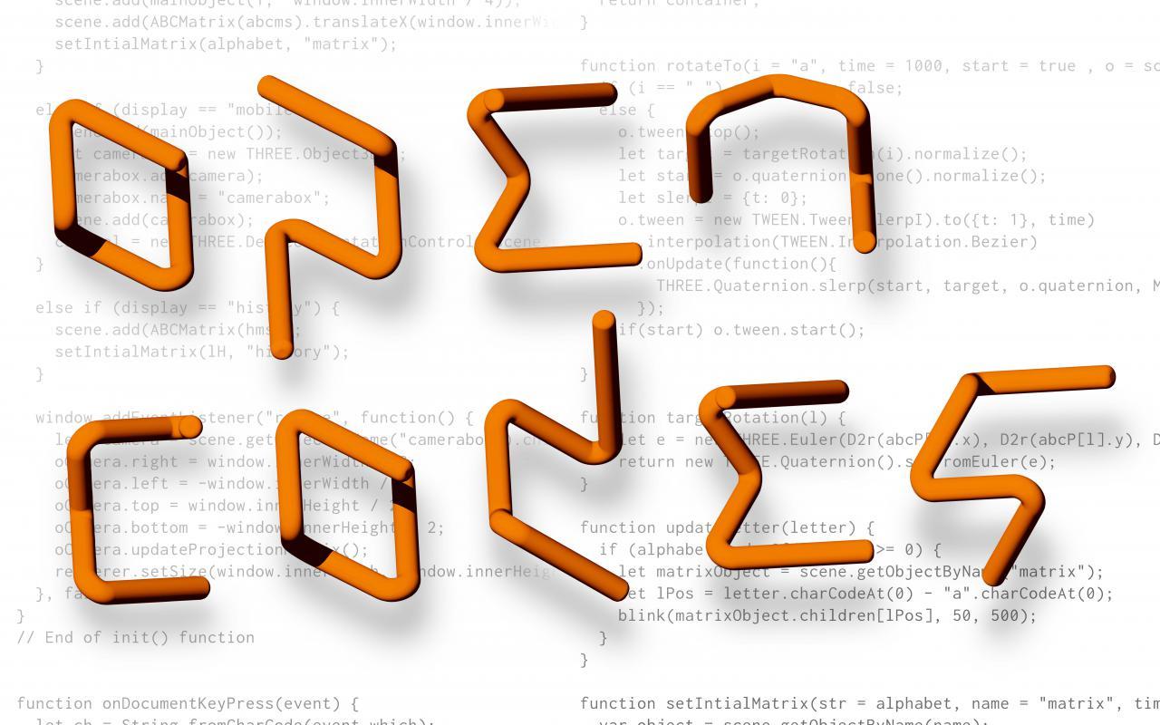 Open Codes. Die Welt als Datenfeld