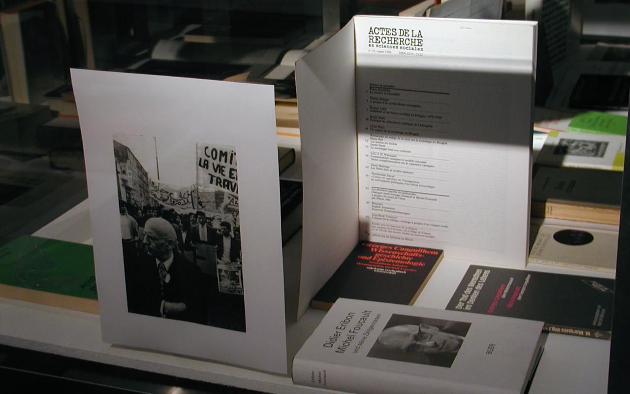 """Ausstellungsansicht """"Foucault und die Künste"""