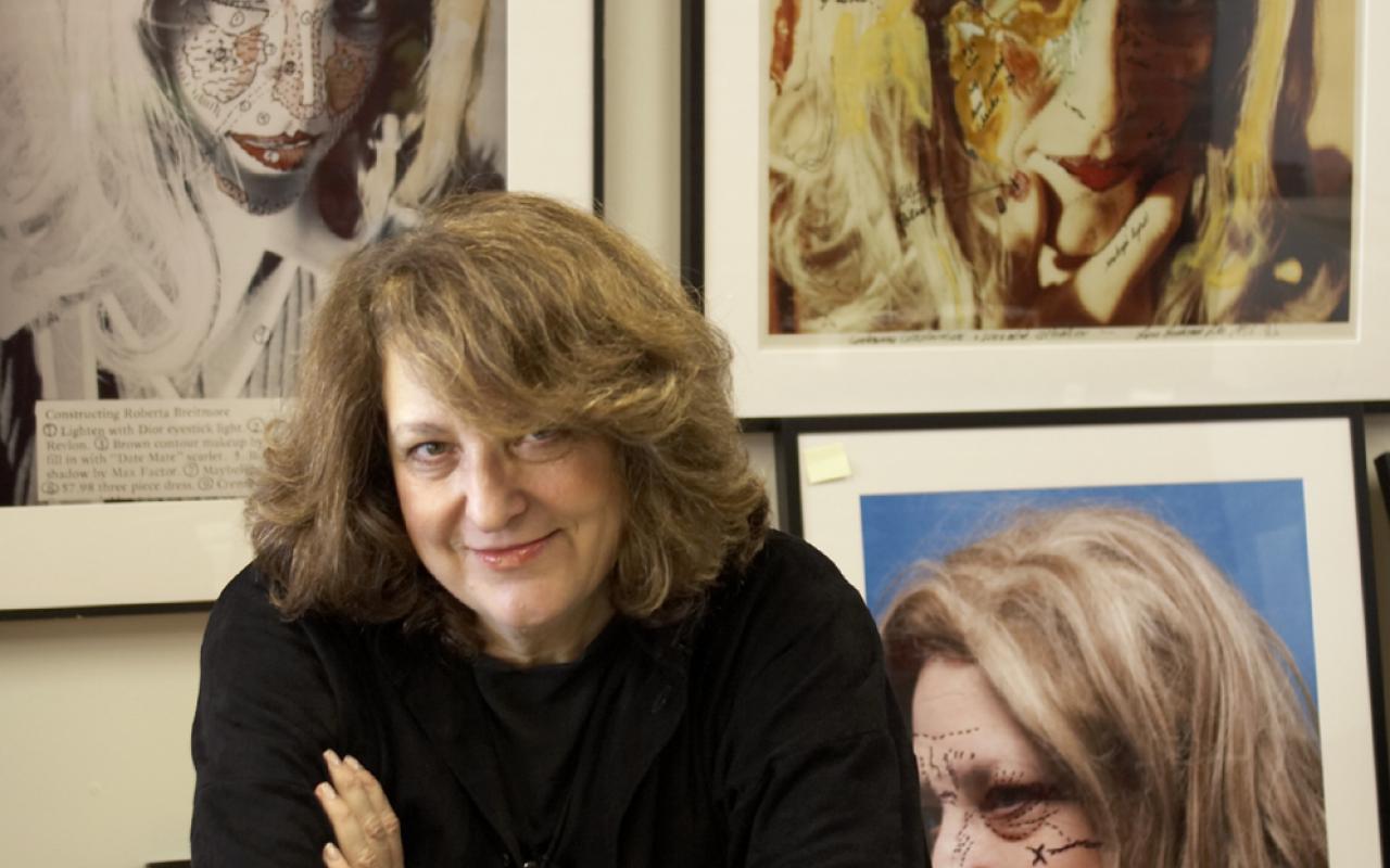 Portrait of the artist Lynn Hershmann-Leeson
