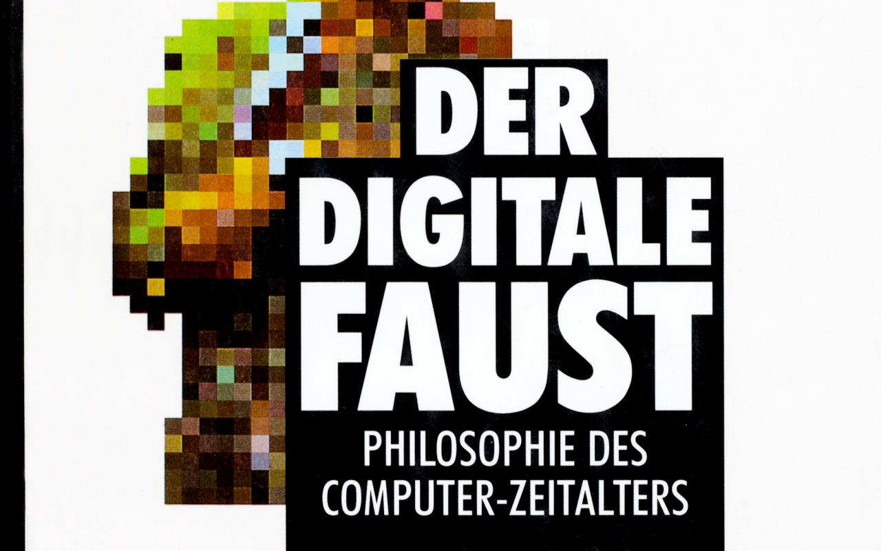 Cover of the publication »Der digitale Faust«