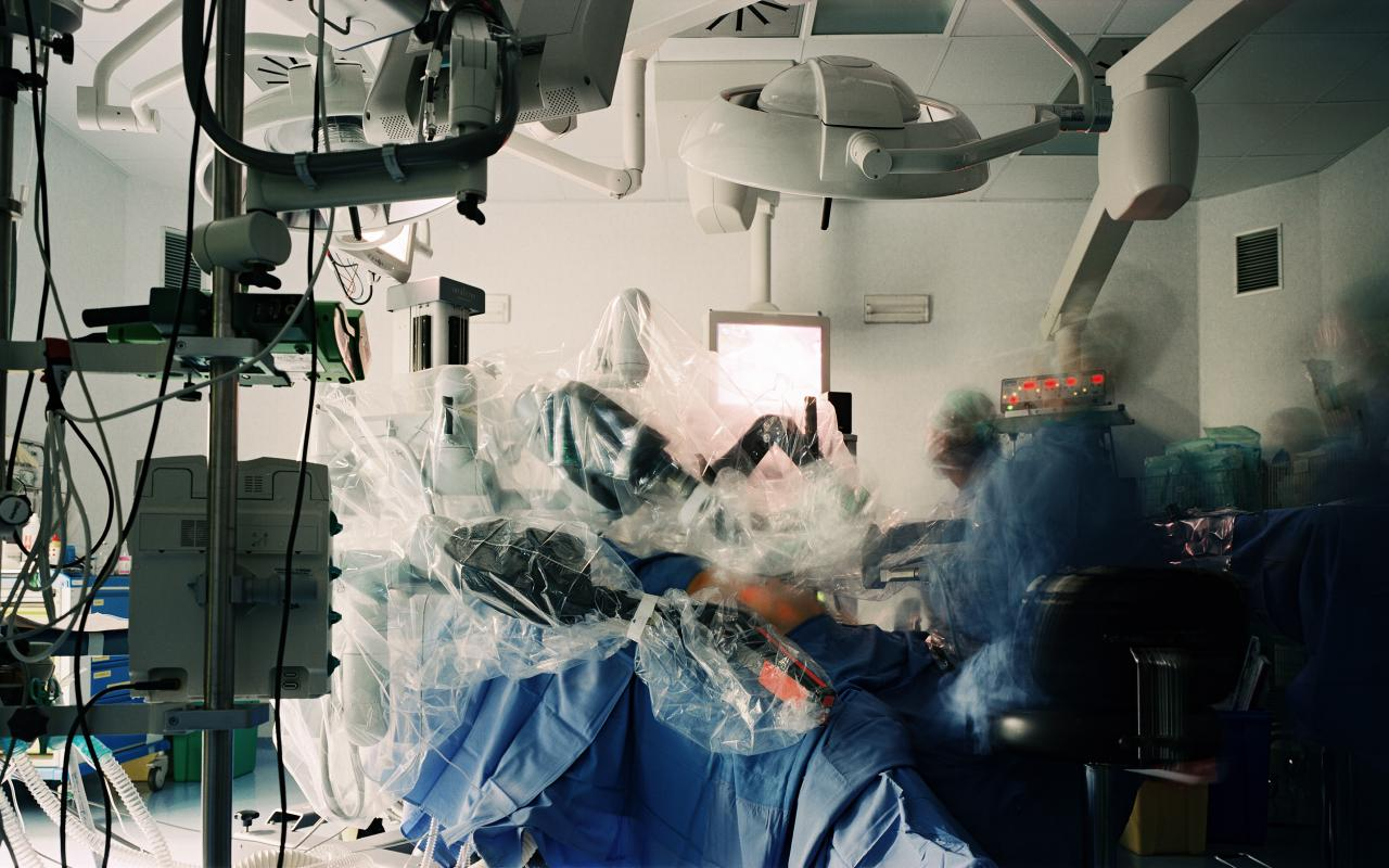 Remotely controlled surgery