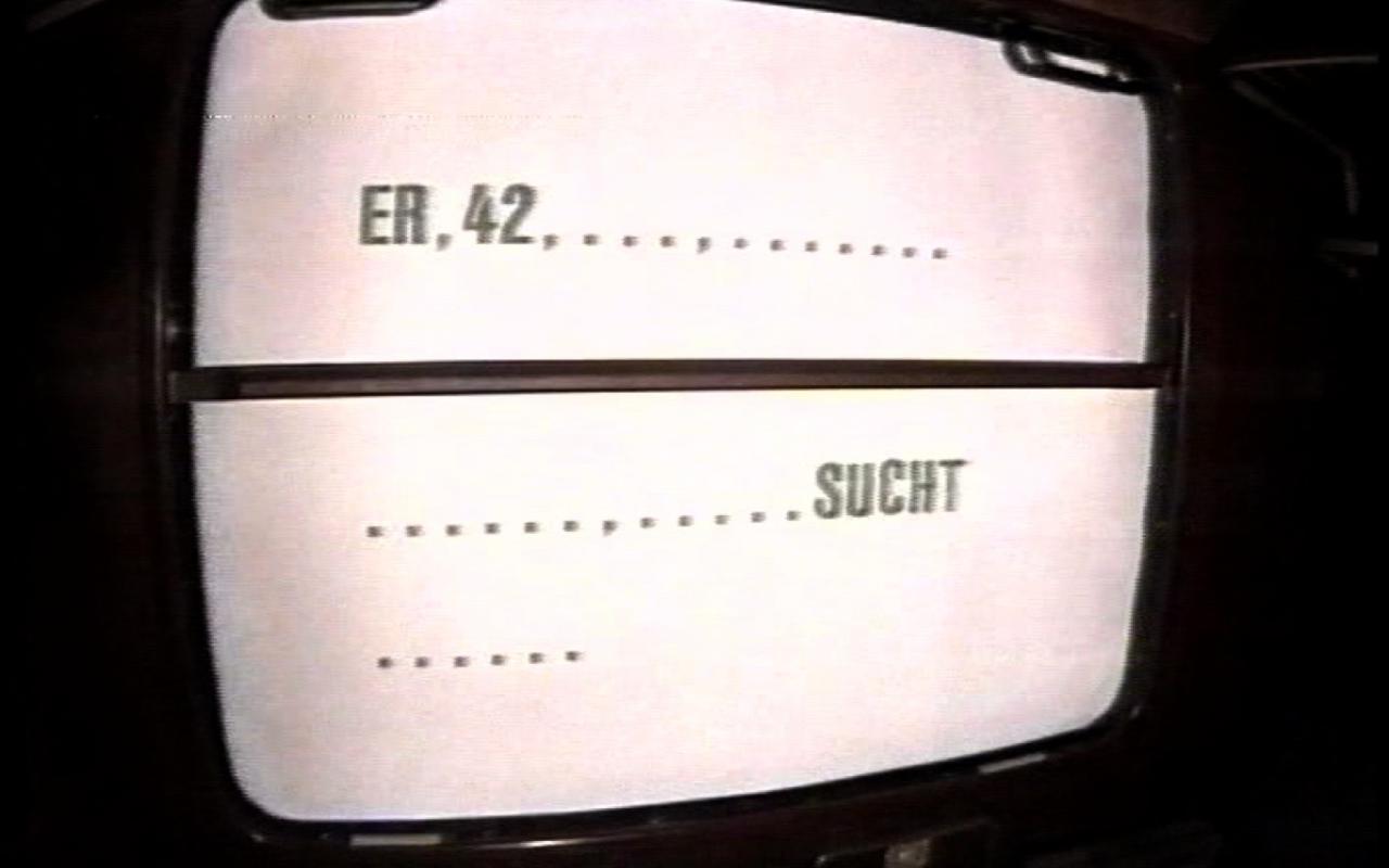 Werk - Er, 42, ... sucht